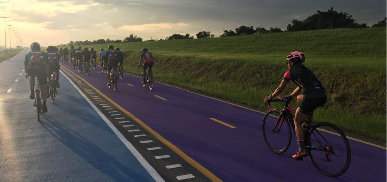 Cycling in Thailand – In Bangkok