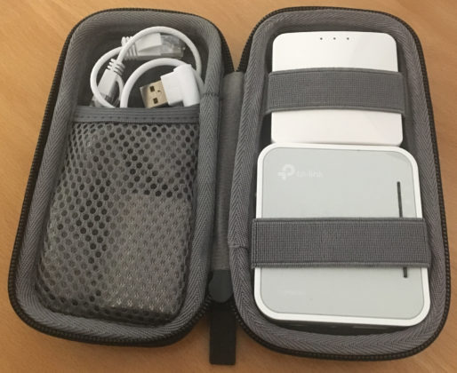 Travel Network Kit - packed